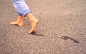 Foot toe-off